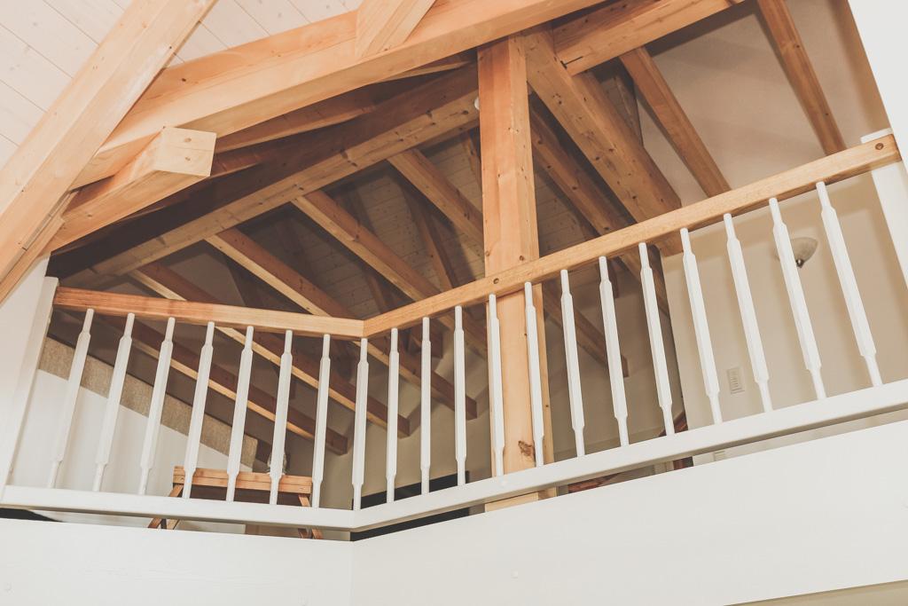 Holzkonstruktion Dachstudio