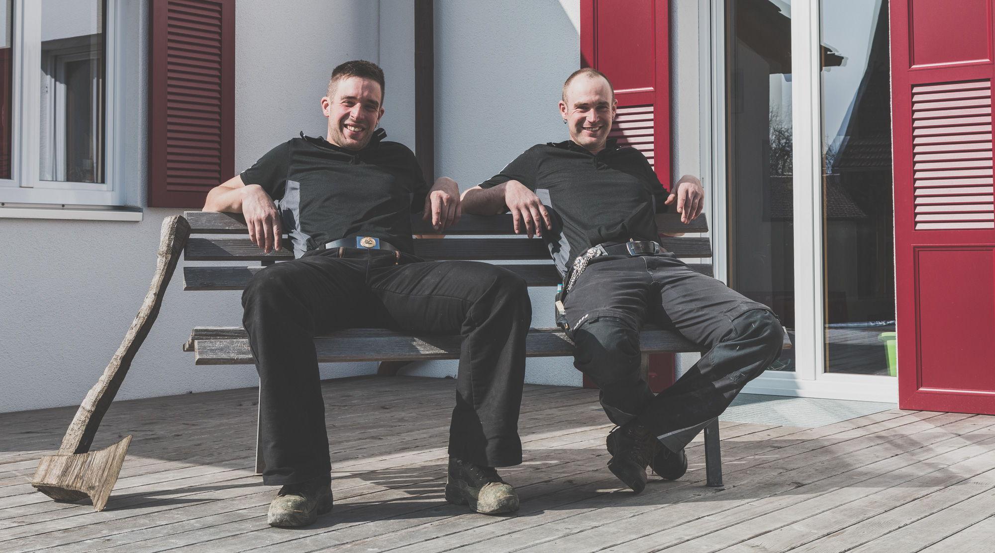Foto Manuel und Roman Berger