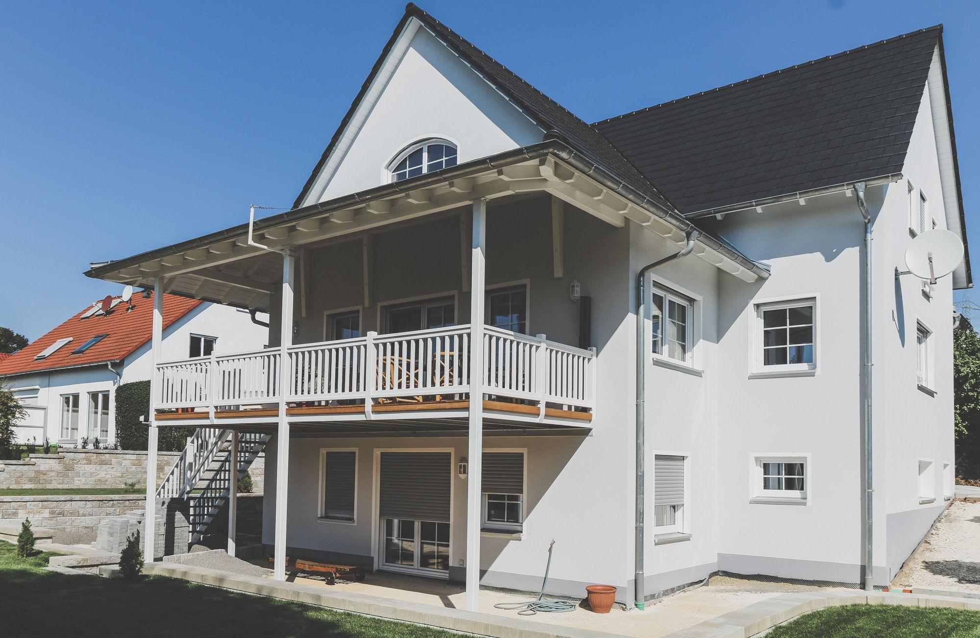Foto Haus mit Veranda
